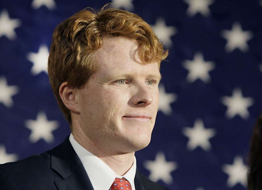 In this Jan. 7, 2010 file photo, Joseph P. Kennedy III attends a campaign event for the senate candidacy of Martha Coakley in Medford, Mass. The grandson of the late Robert F. Kennedy is formally jumping into the race for the Massachusetts congressional seat now held by retiring U.S. Rep. Barney Frank. A member of the campaign who requested anonymity said the Democrat is expected to make the announcement Thursday, Feb. 16, 2012. Photo: Elise Amendola, Associated Press