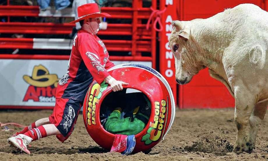 Rodeo Clown Leon Coffee San Antonio Express News