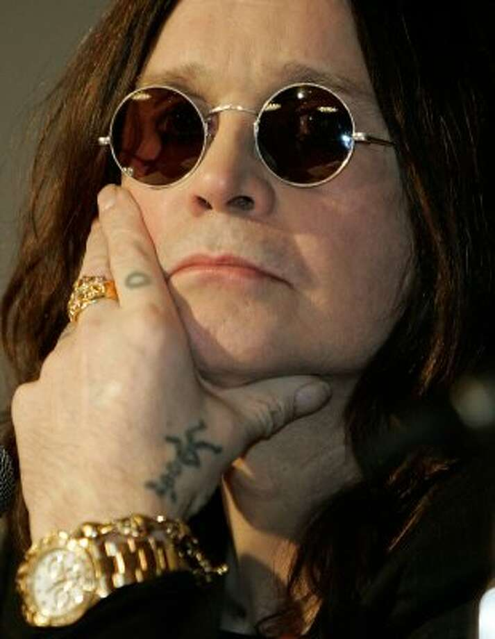 Ozzy Osbourne has also publicly struggled with addiction.  (HECTOR MATA / AFP/Getty Images)