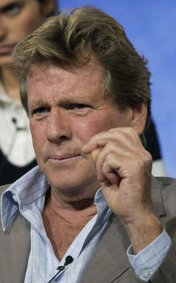 Ryan O'Neal's addictions are well-known, as are those of his children.  (NICK UT / AP)
