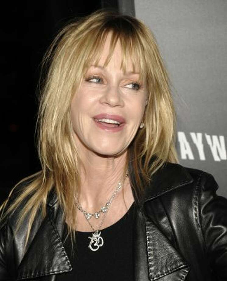 Melanie Griffith has been vocal about her addictions and relapse.  (Dan Steinberg / Associated Press)