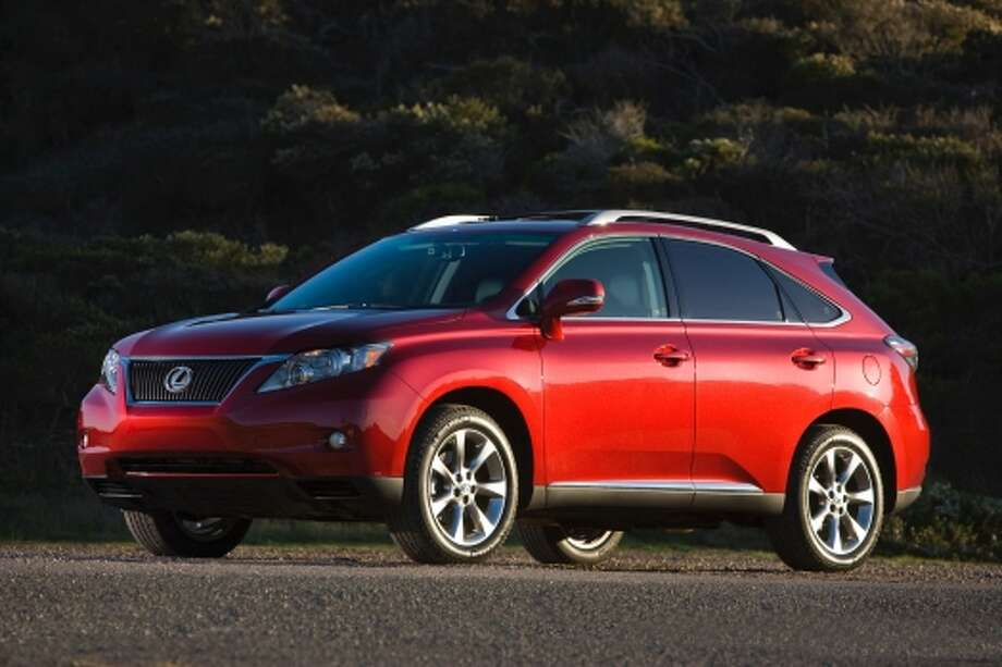 The Lexus RX 350 is one of the most popular midsize premium cross-overs in the U.S. So it's no surprise that it's a hit for those in wealth communities.