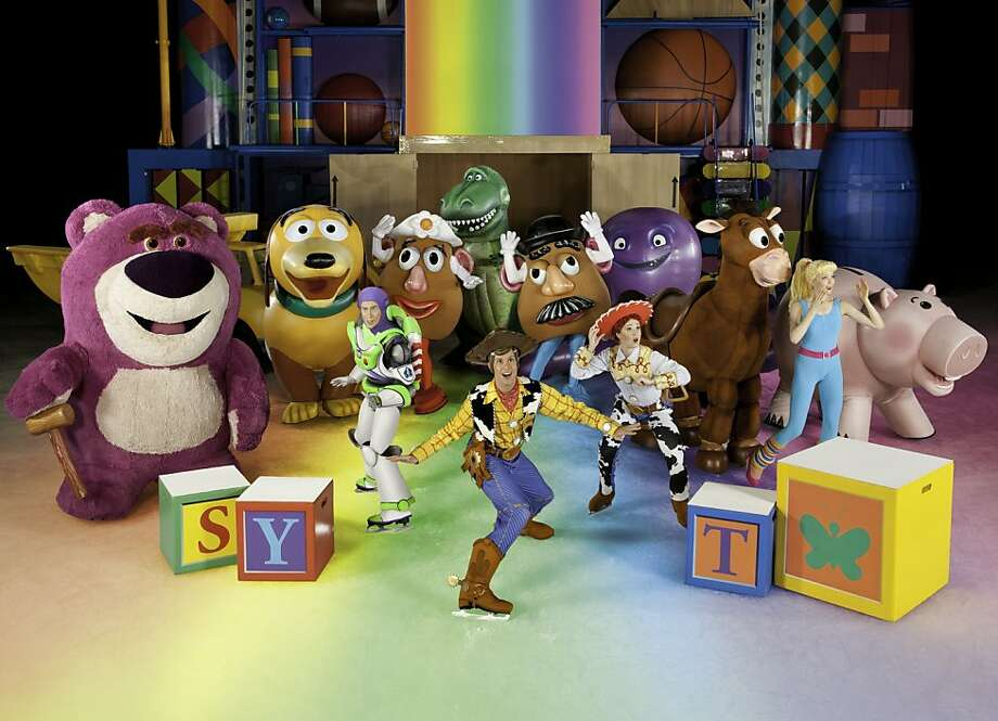 DISNEY ON ICE PRESENTS DISNEY•PIXAR'S TOY STORY 3 COMES TO THE BAY AREA  Feb 22-26 in San Jose – Feb 29-Mar 4 in Oakland Photo: Feld Entertainment