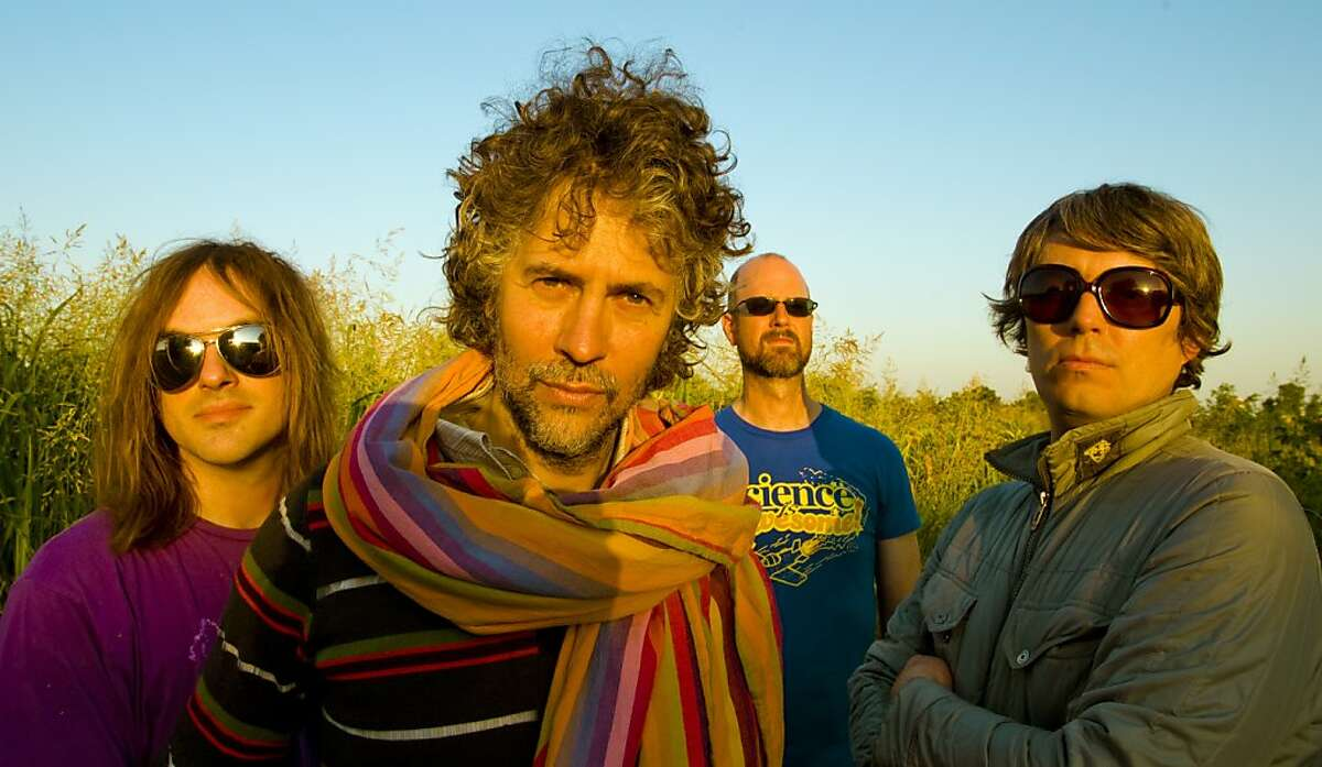 The Flaming Lips appear at the Harmony Festival.