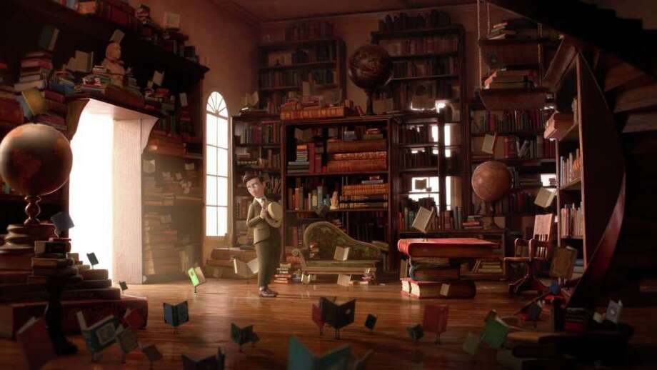 """The Fantastic Flying Books of Mr. Morris Lessmore"" directed by William Joyce & Brandon Oldenburg (Courtesy Shorts HD)"