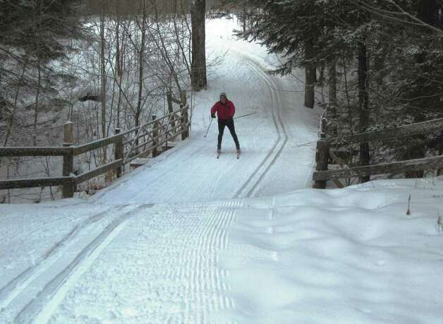The Craftsbury Outdoor Center also has 10 kilometers of snowshoe trails that wind among the trees, circle ponds and traverse ridges, providing a more intimate opportunity to explore nature.
