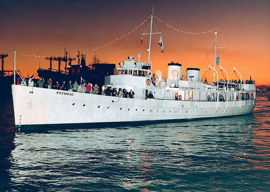 The USS Potomac was Franklin D. Roosevelt's presidential yacht from 1936 until his death in 1945. Photo: Handout