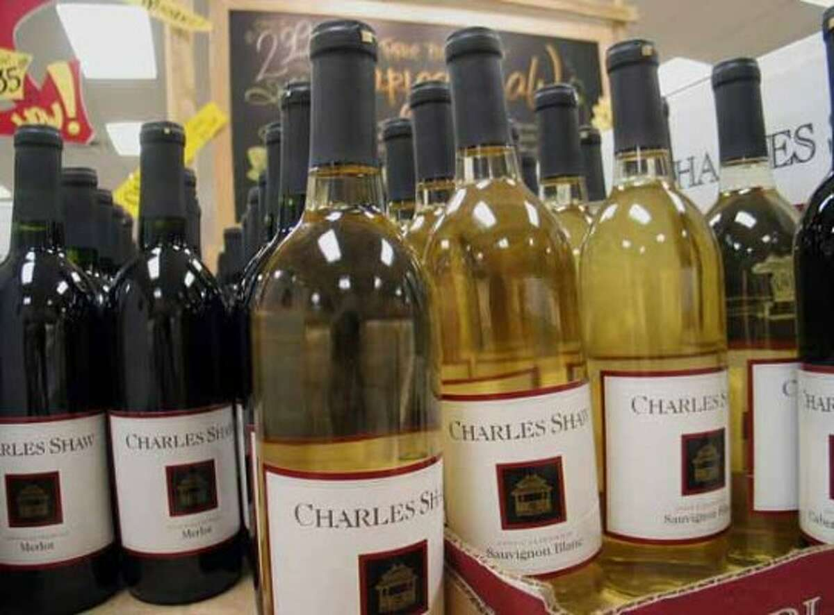 Charles Shaw wines, better known as Two Buck Chuck, perhaps America's most famous mass-market wine.