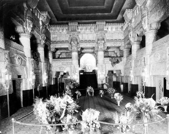 The Aztec Theatre on opening night, June 4, 1926. Photo: Express-News File Photo