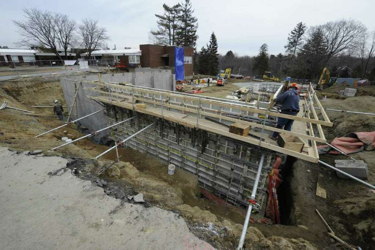 Construction on the expansion of the Ellis Hospital at the Bellevue campus continues in Niskayuna, N.Y. Feb. 16, 2012. ( Skip Dickstein / Times Union)