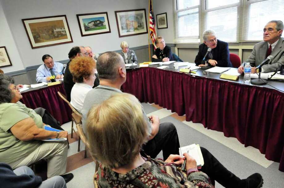 The Saratoga Springs Housing Authority Board of Directors meets at the Stonequist Apartments in Saratoga Springs, New York Thursday Feb.16, 2012. ( Michael P. Farrell/Times Union) Photo: Michael P. Farrell