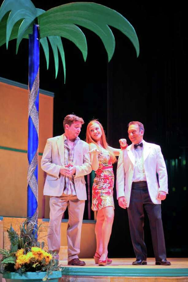 Morris Malakoff photo Dirty Rotten Scoundrels at The Masquerade Theatre