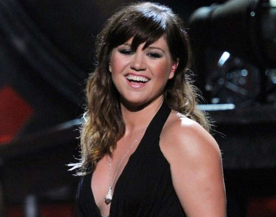 Just Kelly Clarkson. It wouldn't be an award show without her.