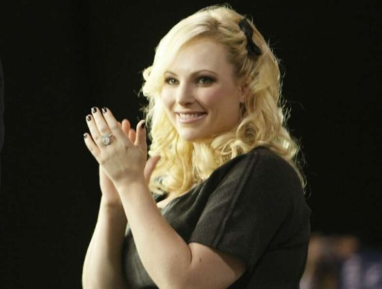 Meghan McCain for Mitt RomneyThe conservative blogger and daughter of former preside