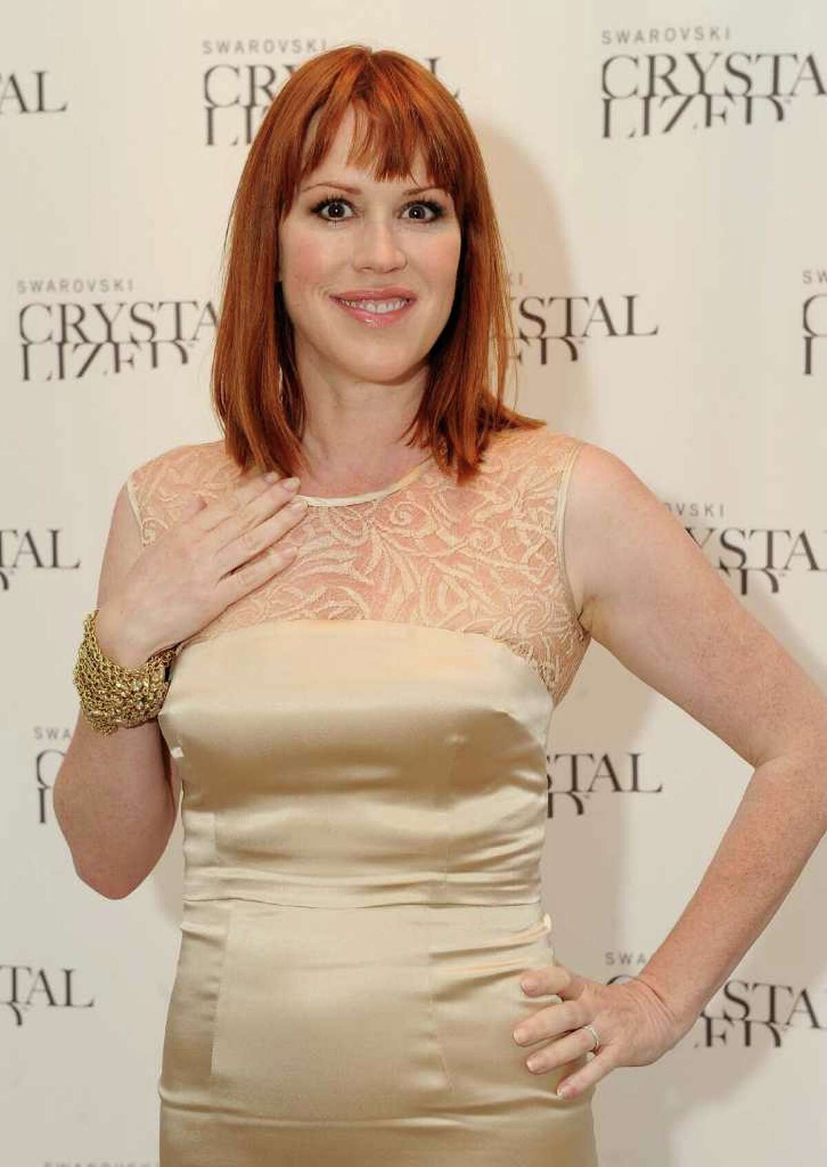 NEW YORK - APRIL 27: Actress/author Molly Ringwald attends the Molly Ringwald book launch hosted by Swarovski CRYSTALLIZED at Swarovski CRYSTALLIZED Concept Store on April 27, 2010 in New York City. (Photo by Stephen Lovekin/Getty Images for Swarovski)