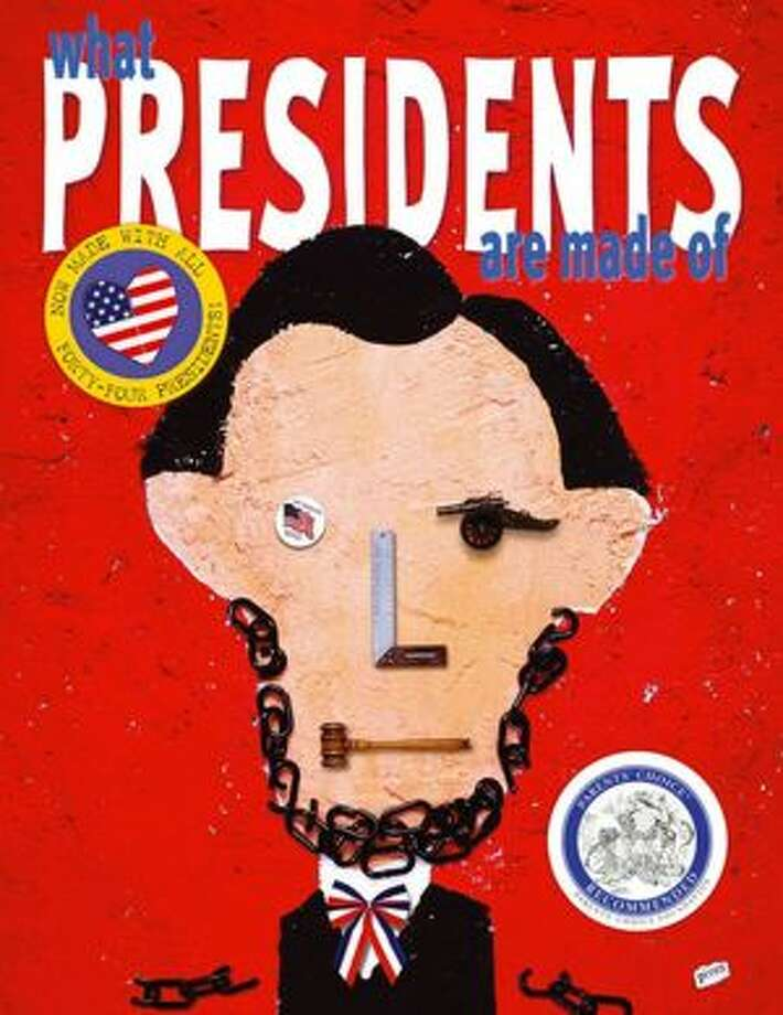 What Presidents Are Made of (by Hanoch Piven, Atheneum Books for Young Readers; 40 pp., ages 5 and older) Photo: Hanoch Piven