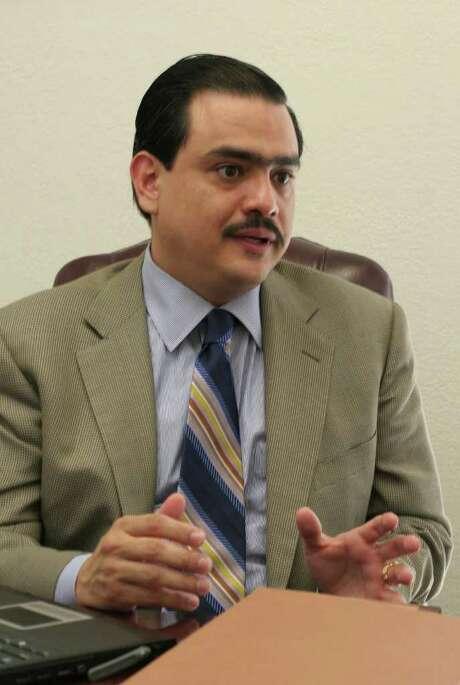 Jacob Monty: abogado que representa en Houston al grupo republicano Hispanic Republicans of Texas. Photo: Gary Fountain / Freelance