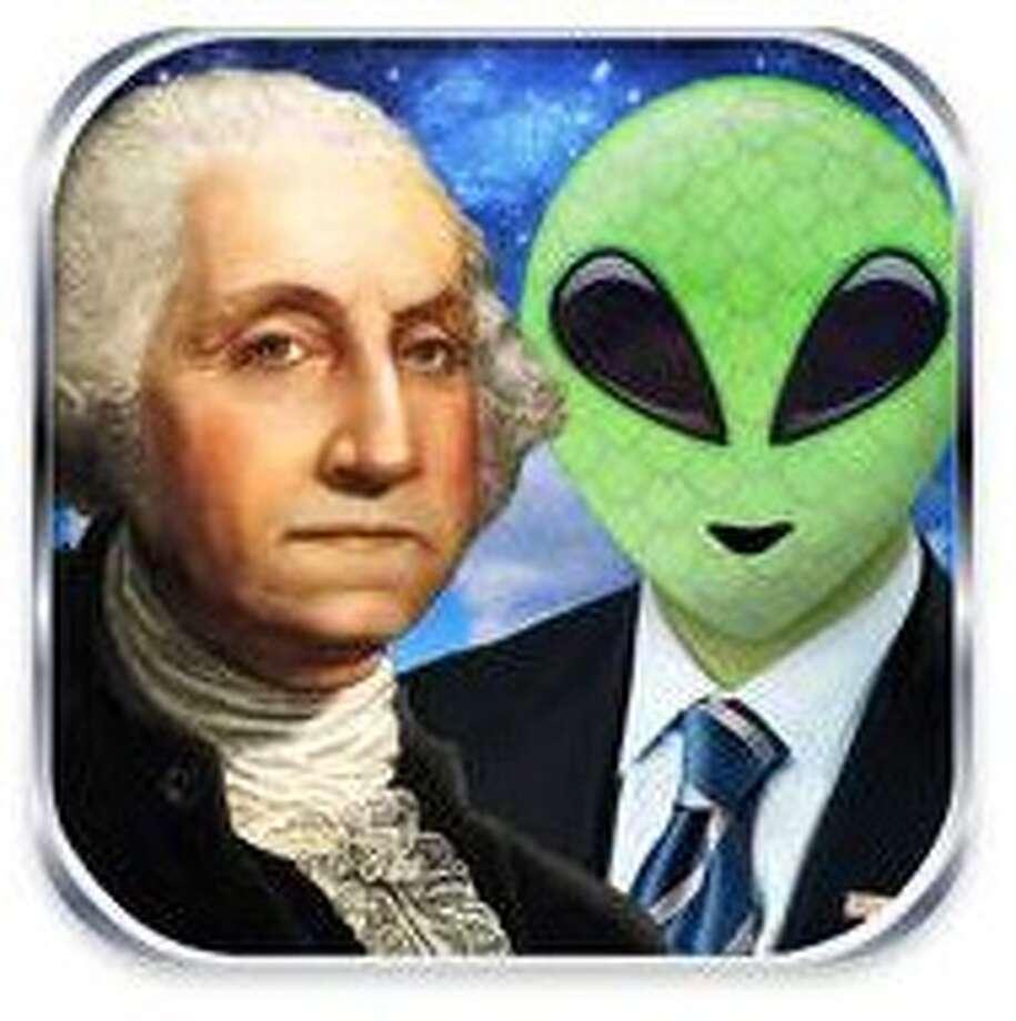Presidents vs. Aliens app icon.