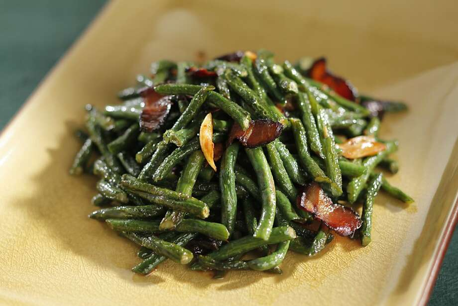 Long Bean and Bacon as seen in San Francisco, California on Wednesday, January 4, 2011.  Styled by Lynne Char Bennett. Photo: Craig Lee, Special To The Chronicle