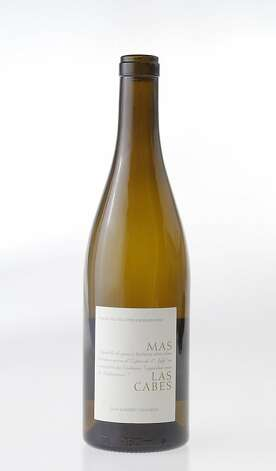 Jean Gardies Mas Las Cabes Vin de Pays des Cotes Catalanes Blanc Photo: Craig Lee, Special To The Chronicle