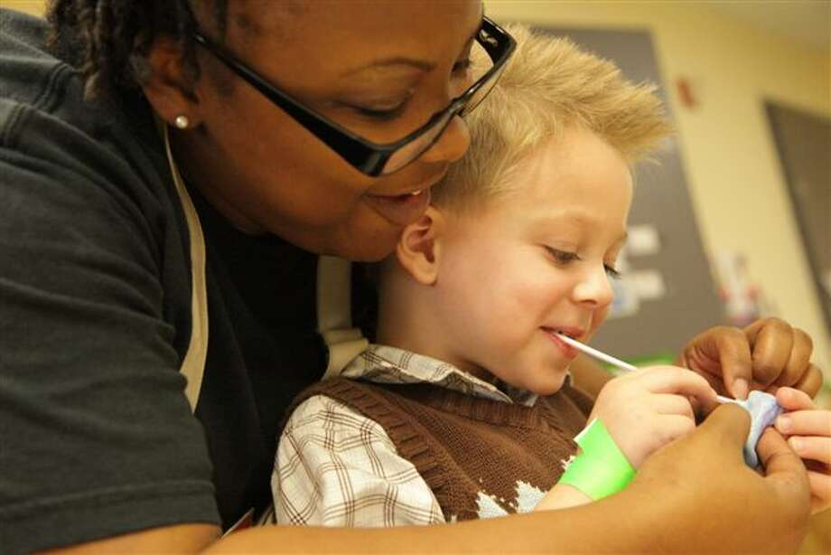 Through the work of people like Denise Hatter of the Star of Hope Child Care Center, the United Way Bright Beginnings program has helped more than 5,000 students reach developmental milestones. Photo: United Way Bright Beginnings