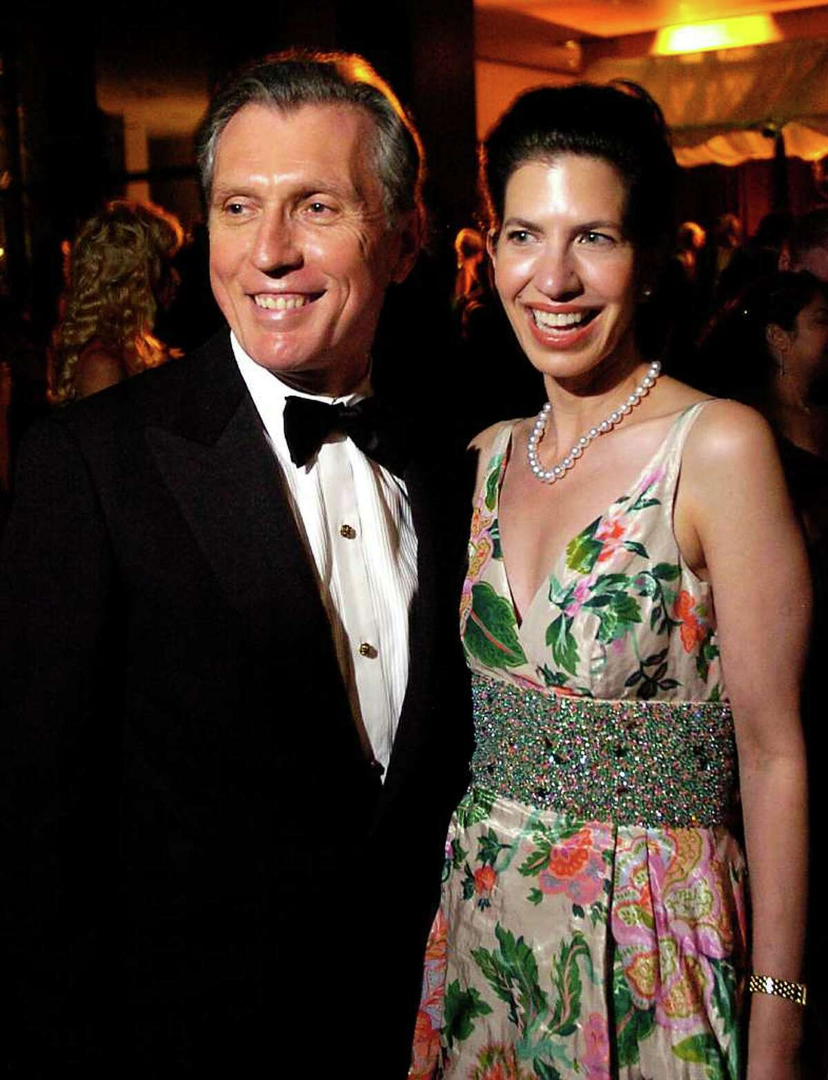 Marty and Kelly Fein at the Houston Symphony Opening Night Gala Saturday Sept. 9,2006.(Dave Rossman/For the Chronicle)