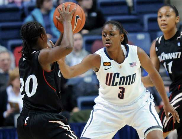 Tiffany Hayes, UConn Photo: Bob Child, Associated Press / FR170140 AP