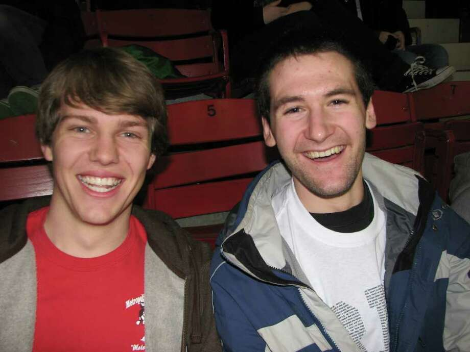 Were you SEEN at the RPI vs. Quinnipiac hockey game in Troy on Friday, Feb. 17, 2012? Photo: Kristi Gustafson Barlette/Times Union
