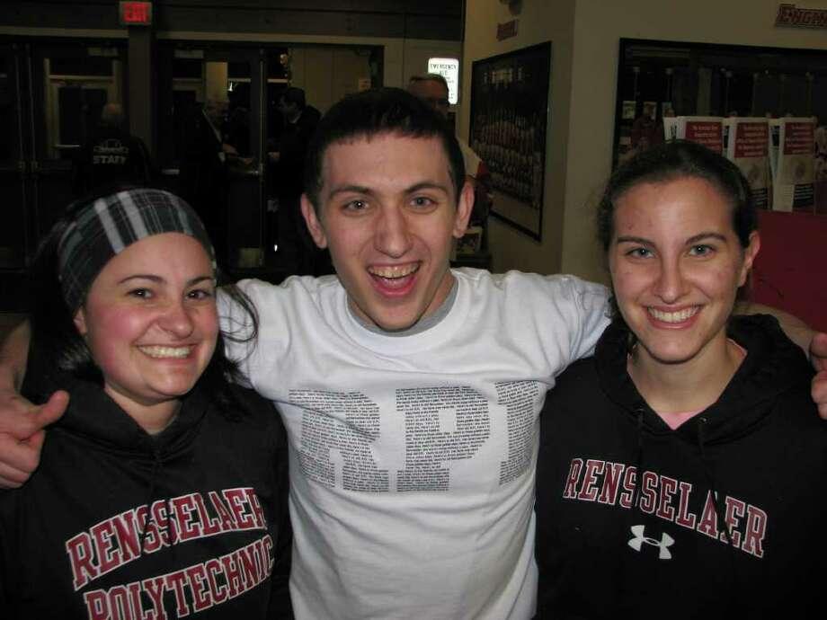 Were you SEEN at the RPI vs. Quinnipiac hockey game in Troy on Friday, Feb. 17, 2012? Photo: Kristi Gustafson Barlette/Times Union