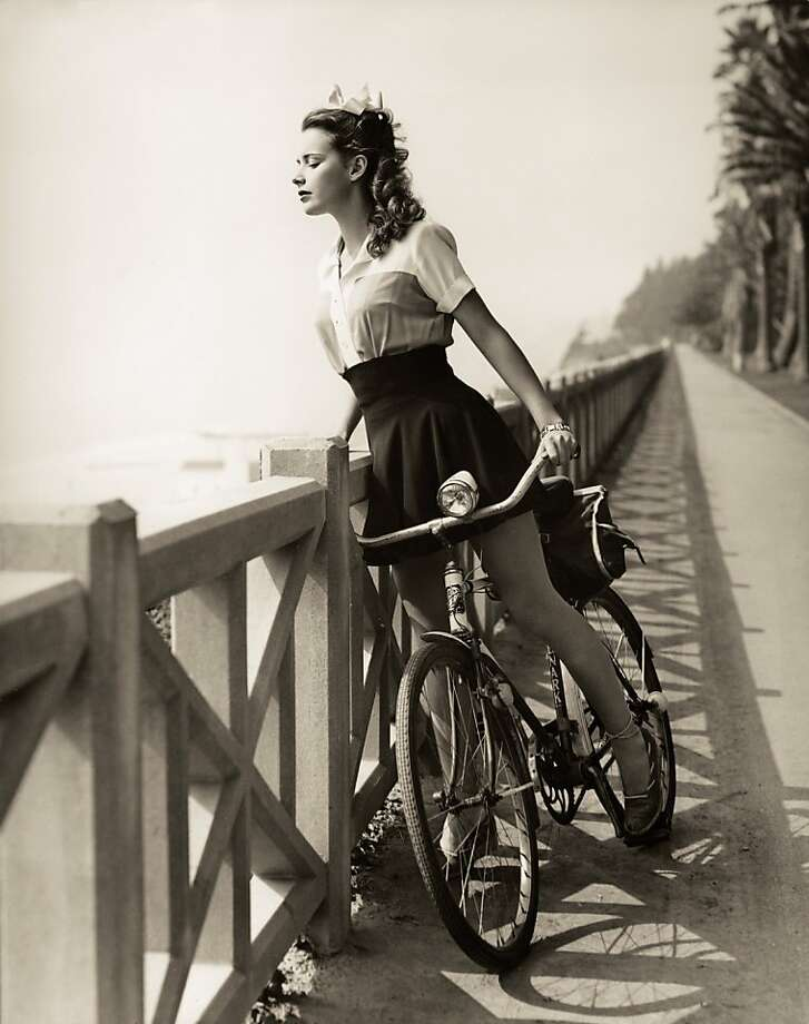 "Susan Peters from Steven Rea's book  ""Hollywood Rides a Bike: Cycling With the Stars."" Photo: Howie Cohen's Everything Bicycle"
