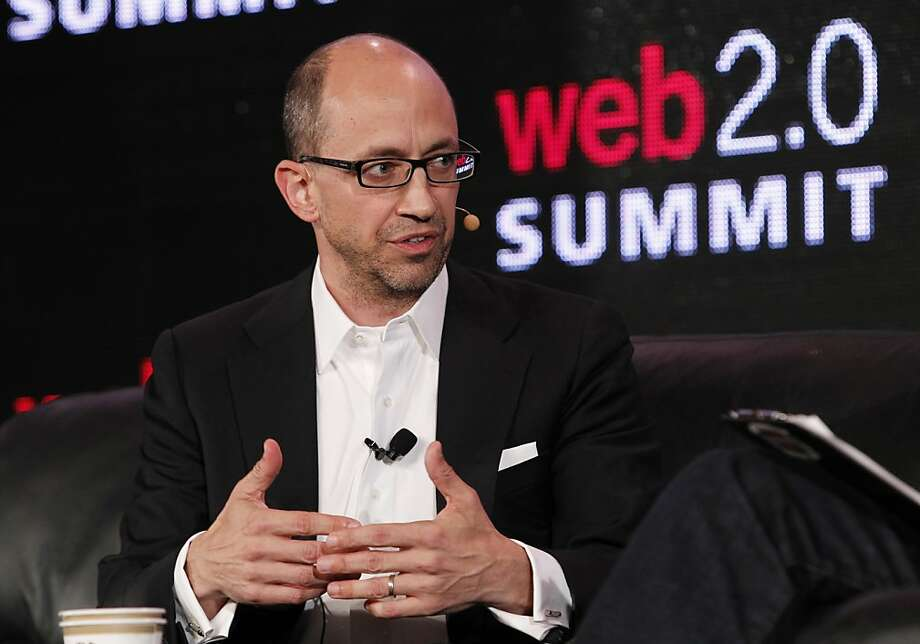 Dick Costolo, CEO of Twitter, answers at the Web 2.0 Summit at the Palace Hotel  on Monday, October 17, 2011 in San Francisco, Calif. Photo: Beck Diefenbach, Special To The Chronicle