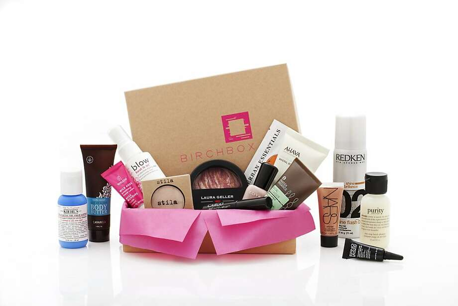 Undated product images from Birchbox, an online beauty retailer, which delivers luxe beauty samples to your door each month Photo: Birchbox