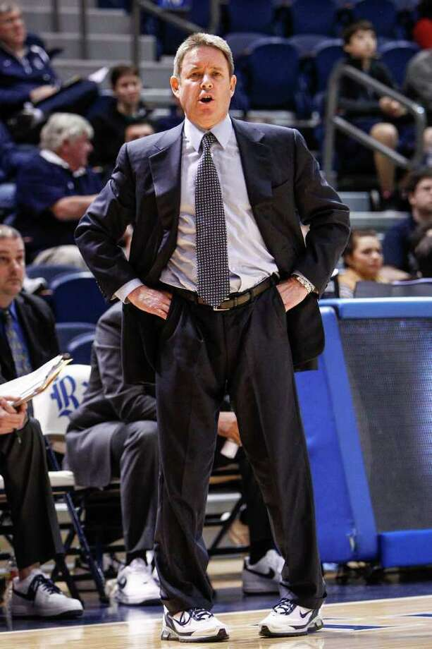 Ben Braun has come a long way from washing uniforms at Siena Heights to seeking his 600th victory as a college coach at Rice. Photo: Michael Paulsen / © 2011 Houston Chronicle