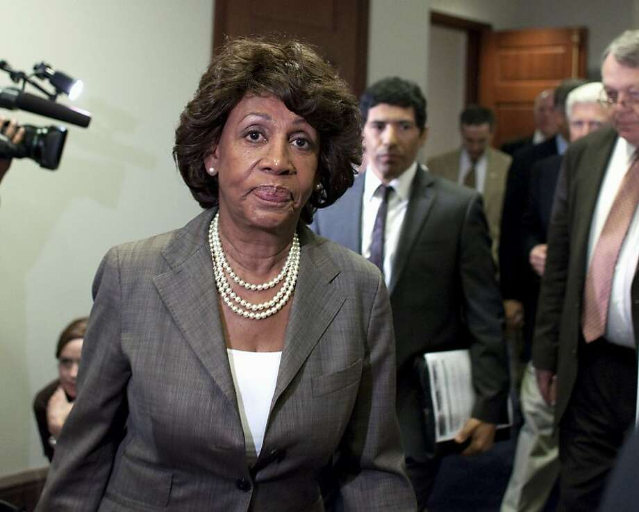 Rep. Maxine Waters, D-Los Angeles, denied doing anything wrong. Photo: Harry Hamburg, Associated Press