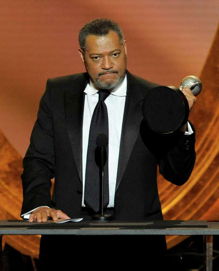 Laurence Fishburne rose to fame as Morpheus in 'The Matrix,' but he's also performed in three Broadway productions, including 2008's 'Thurgood,' in which the star played Thurgood Marshall. He won a Tony in 1992 for Best Actor in a Featured Role for 'Two Trains Running.' Photo: Chris Pizzello / AP