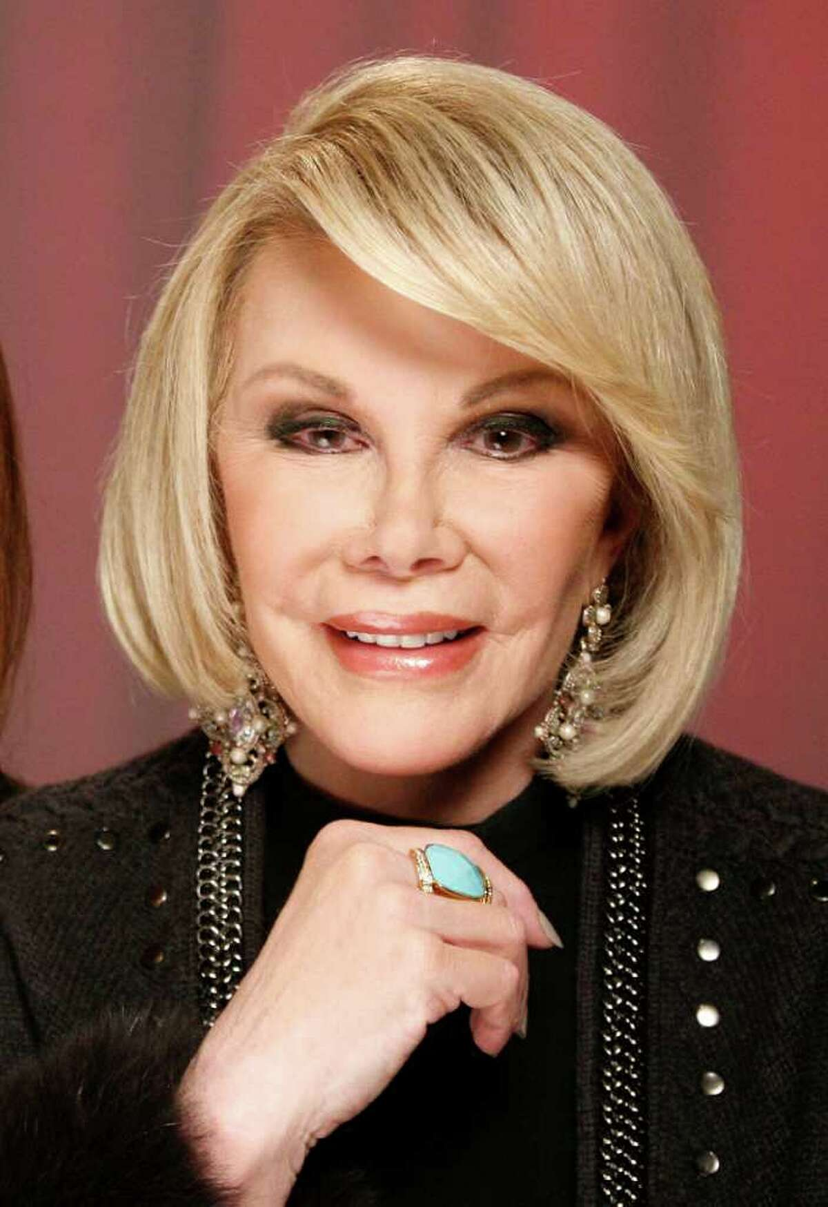 TV personality Joan Rivers in January. Rivers, along with Regis Philbin, Rhea Perlman and Kevin Nealon, will soon guest-star on the TV Land series,