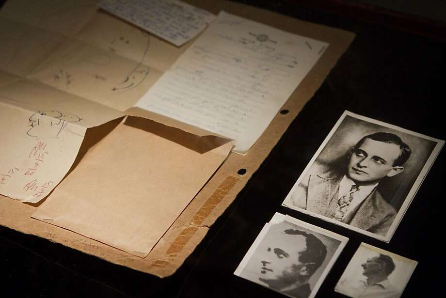 "A photograph of Adolph Eichmann under the alias of ""Ricardo Klement,"" right, used by forensics experts to compare and identify Eichmann, photos at left and top, are part of the display in the ""Operation Finale"" exhibit at Beit Hatfutsot, the Museum of the Jewish People, in Tel Aviv, Israel on Tuesday, Feb. 7, 2012. Lifting a half-century veil of secrecy, Israel's Mossad spy agency is opening its archive to reveal the story behind the legendary 1960 capture of the Nazi mastermind. The exhibit is opening Feb. 10, 2012. After the war ended in Germany's defeat, Eichmann escaped American captivity and fled to Argentina in 1950, assuming the name Ricardo Klement. (AP Photo/Dan Balilty) Photo: Dan Balilty, Associated Press"