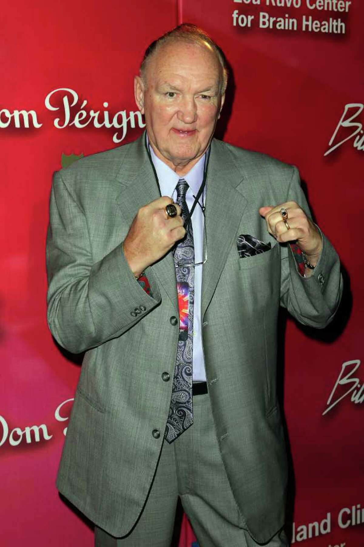 Former boxer Chuck Wepner arrives at the Keep Memory Alive 16th Annual