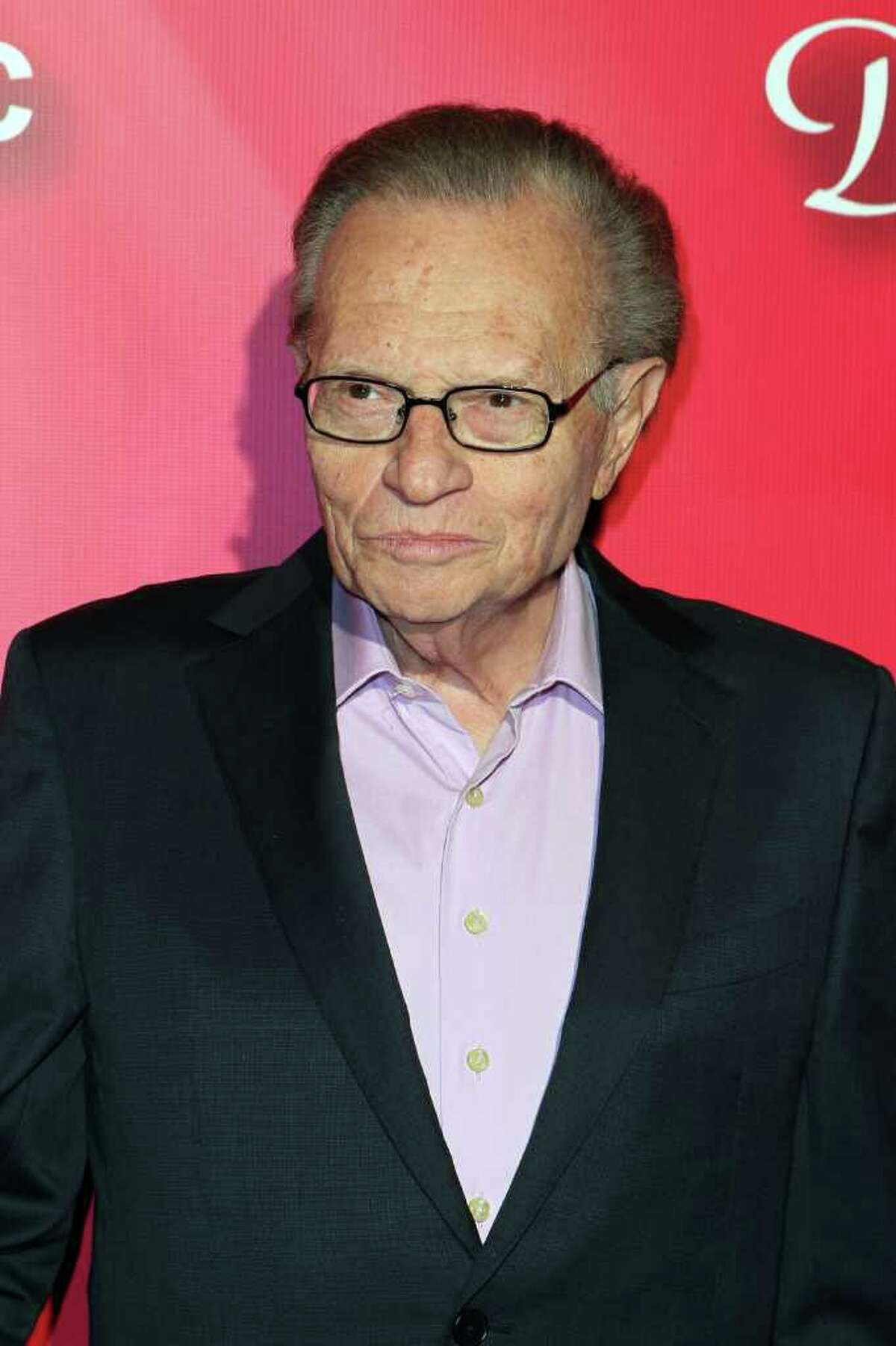 Television personality Larry King arrives at the Keep Memory Alive 16th Annual