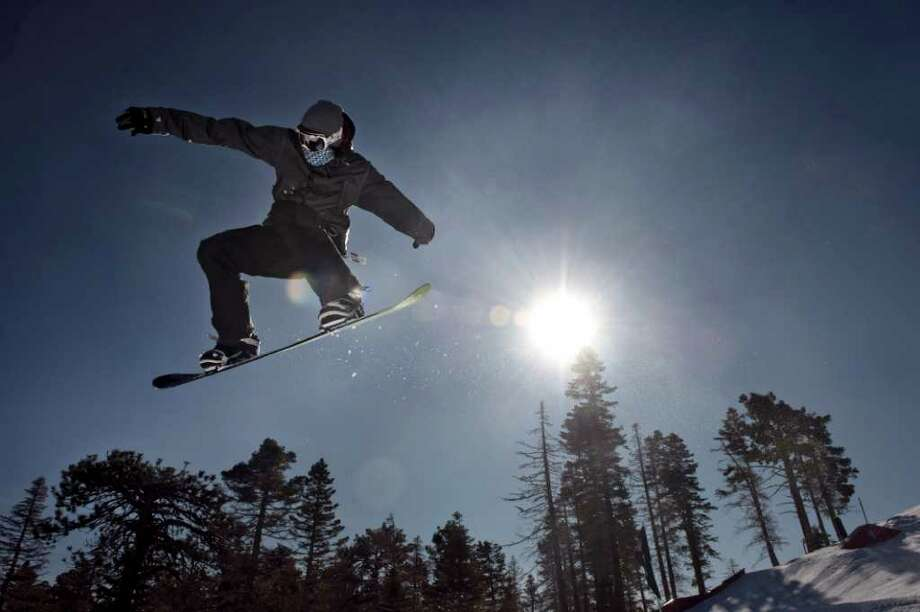 SnowboardingSnowboarding is the cool version of skiing. You are still riding downhill strapped to a board, only now both your feet are strapped to the same board. Ironically enough, the first snowboard came around as a toy for a child. Who knew? Photo: Paul Bersebach, Associated Press / THE ORANGE COUNTY REGISTER