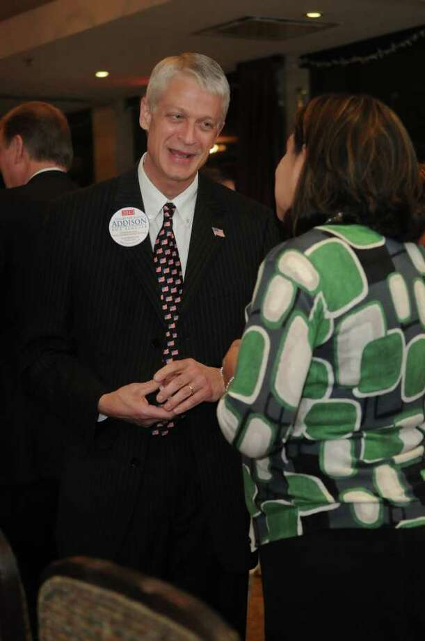 Glenn Addison, who runs a Magnolia funeral home, has spent nearly $100,000 and visited many communities in his effort to win the seat being vacated by Sen. Kay Bailey Hutchison. Photo: Jerry Baker