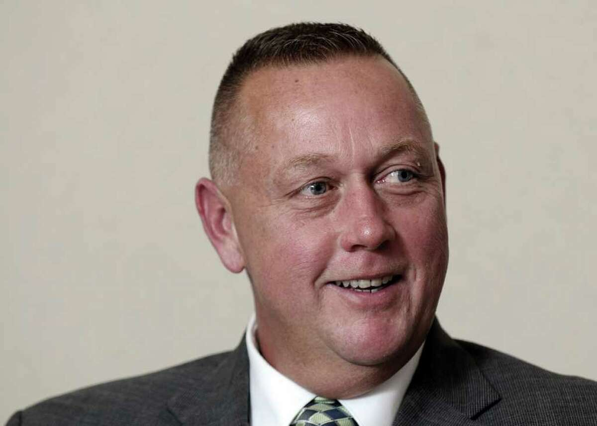 Gary Gordon, a Rensselaer County district attorney's investigator, said he put a stop to an effort by his campaign team to enroll inmates to vote in last year's election for sheriff. Gordon lost the race to Sheriff Jack Mahar, who is in his third term. (Philip Kamrass / Times Union )