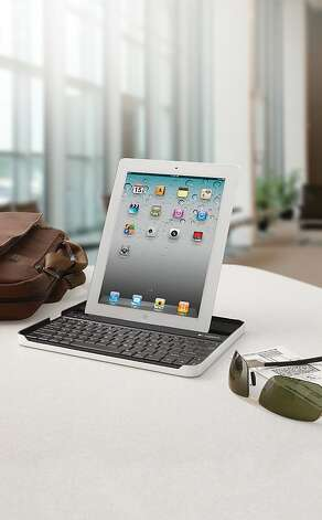 Logitech Keyboard Case for iPad 2. Photo: Logitech