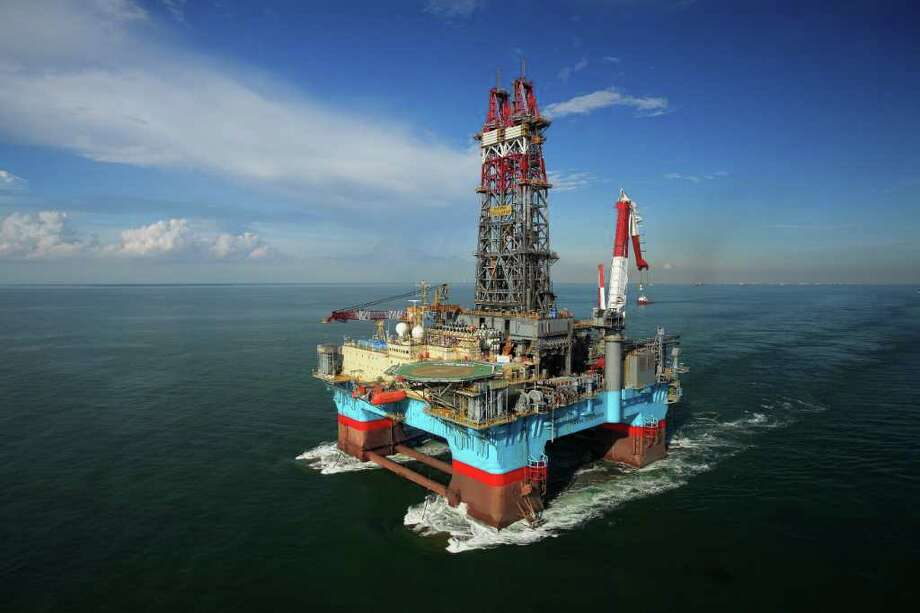 An Exxon rig in the Gulf of Mexico. Photo: Exxon Mobil Corp.