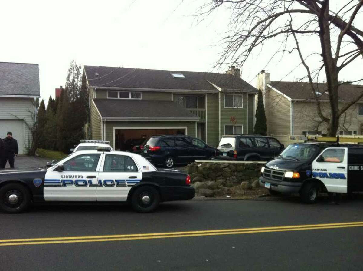 A man who police say broke into several cars Monday, Feb. 20, 2012 used a garage-door opener to enter a home on Fifth Street, leading to a confrontation with a homeowner who woke up to find the burglar in his bedroom at about 5 a.m., police said. Stamford Police Capt. Brian McElligott said the man is believed to be Larry Bowman, 33, of no known address. McElligott said police are not entirely sure of the suspect's id
