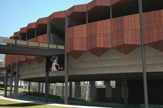 The 2012 plan for the SPAC facade, to be completed this spring. (Courtesy SPAC)