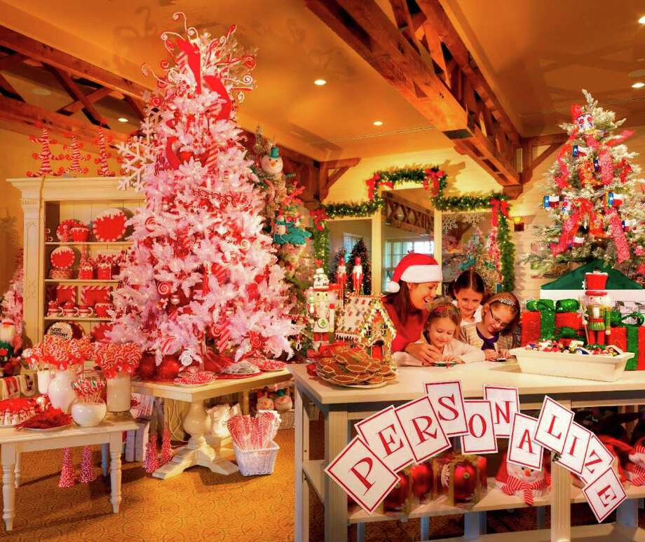 Stock up on gifts in the Christmas shop at Barton Creek Resort. Photo: Barton Creek Resort