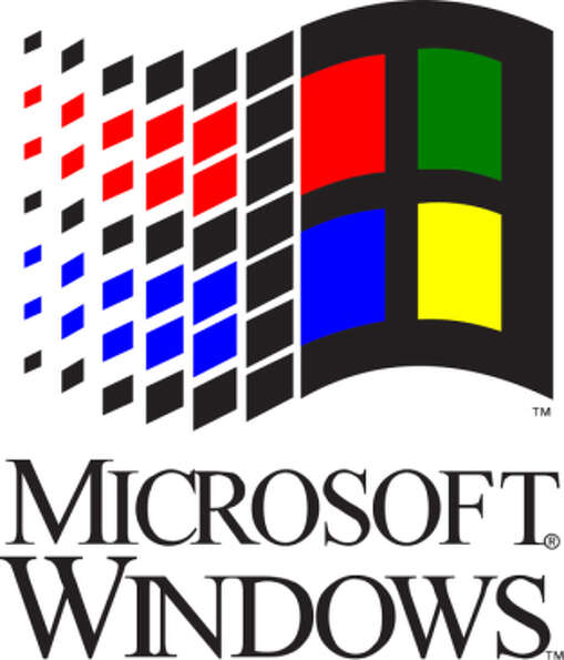 Its roots date back to the Windows 3.1 logo.