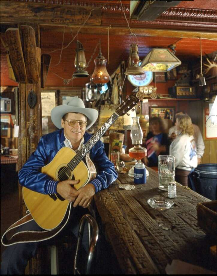 The face behind the name and the singer that has entertained locals and visitors alike for almost 50 years at Arkey Blue's Silver Dollar Saloon. (J. Griff Smith, TXDOT) Photo: Texas Hill Country