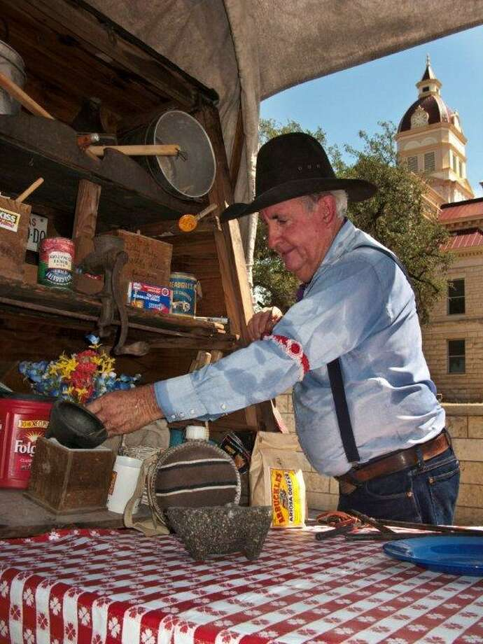 """Cowboys on Main"" occurs every Saturday from 1 to 4 p.m. (J. Griff Smith, TXDOT) Photo: Texas Hill Country"